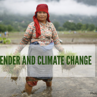 [Policy Brief] Gender and Climate Change