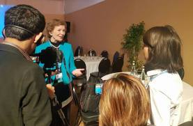 Interview with Mary Robinson!