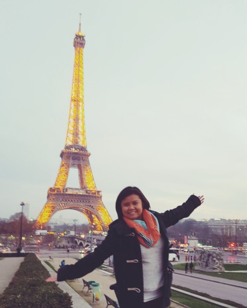 After COP 21, visited the Eiffel Tower