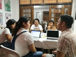 Discussions at the PH workshop