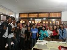Participants of the PH workshop